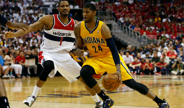 Paul George and the Pacers are going back to the Eastern Conference finals.
