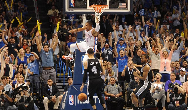 Will the Thunder's athleticism be too much for the Spurs?  (USATSI)