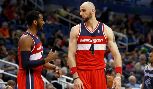 John Wall and Marcin Gortat were good pick-and-roll partners in Washington this season.