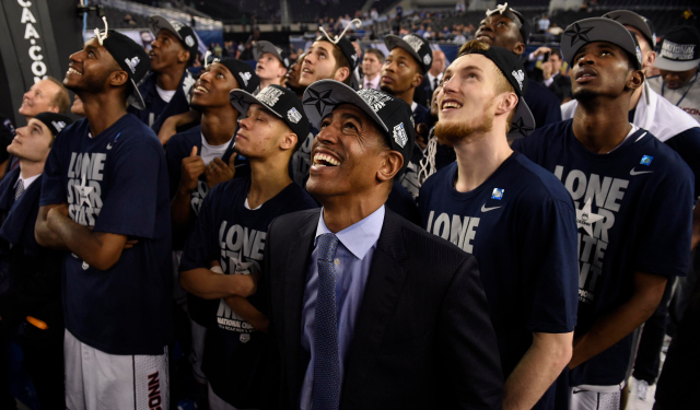 Kevin Ollie is already a champion as a college head coach.