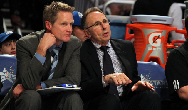 Steve Kerr signed a five-year, $25 million deal with Golden State.
