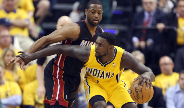 Stephenson tied his career playoff high with 25 points on Tuesday.