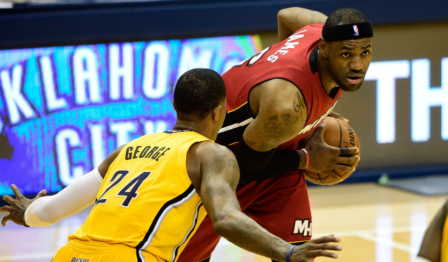 Can LeBron get the best of Paul George in Game 2?