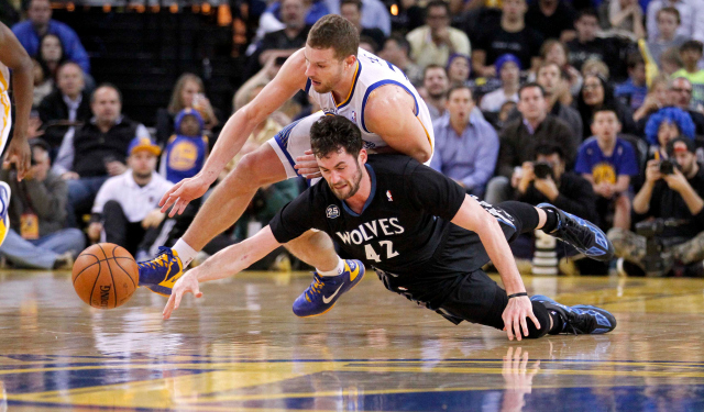 David Lee might be expendable, as the Warriors want Love.