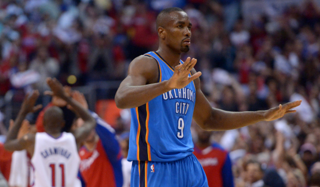 Ibaka was greatly missed in Game 1.
