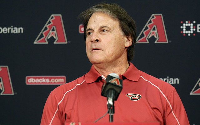 The Diamondbacks are now counting on Tony La Russa to help turn things around.  (USATSI)