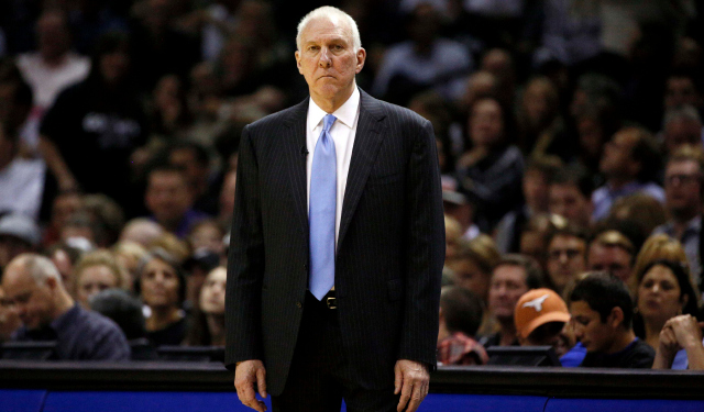 This is Gregg Popovich's shocked face.