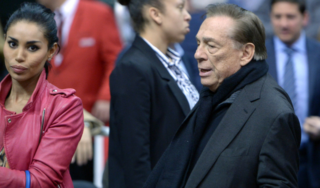 The relationship between Stiviano and Sterling was reportedly strained in early April.