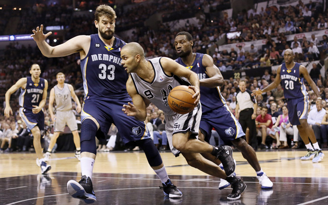 The Grizzlies want to attack Tony Parker more. But how?    (USATSI)