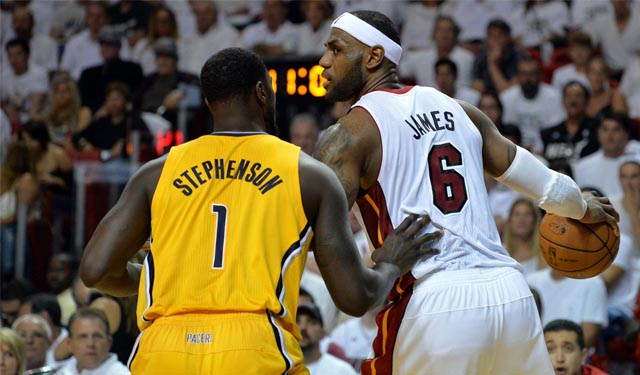 Did LeBron show Lance a sign of weakness? (USATSI)