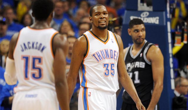 Back home and fully loaded, Thunder have new life in West finals