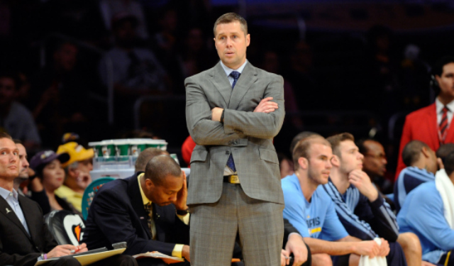Joerger will be back with the Grizzlies.