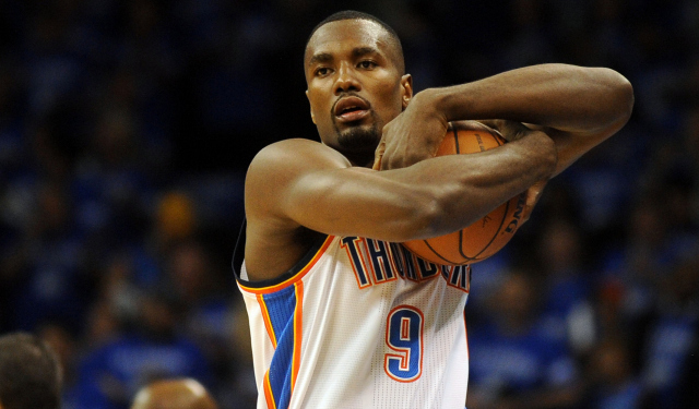 Ibaka made six of his seven shots on Sunday.