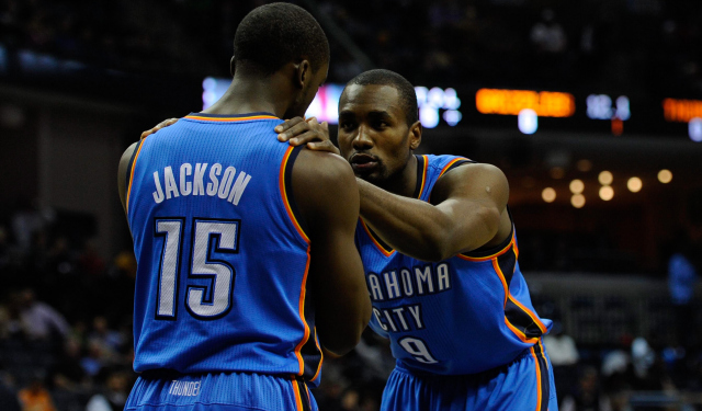 Ibaka was greatly missed in OKC's two losses in San Antonio.