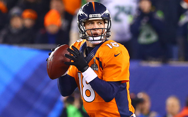Expect to see Peyton Manning and the Broncos back in the AFC title game. (USATSI)