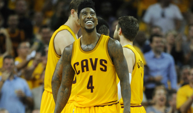 Iman Shumpert is cool with Lil B.  (USATSI)