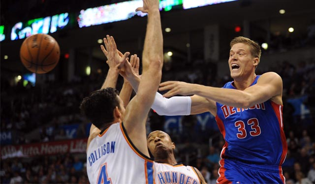 Jerebko won't be passing on his player option this coming season. (USATSI)