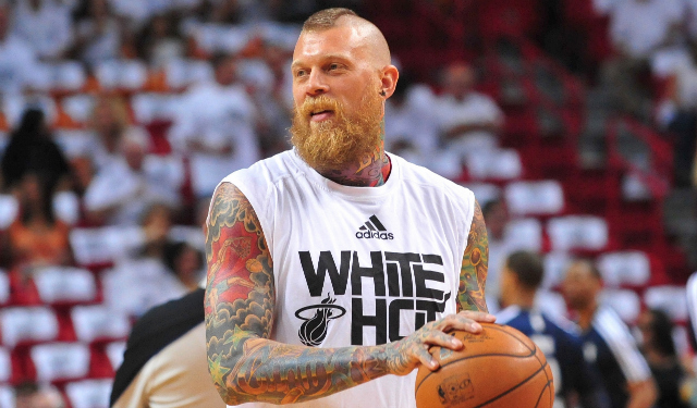 Chris Andersen is inactive for Wednesday's game.