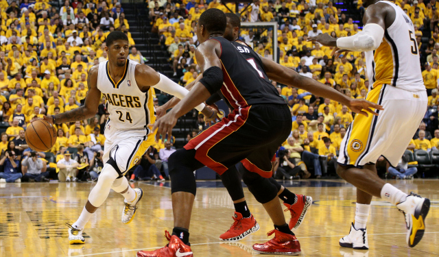Paul George carries the Pacers to a season-extending win.