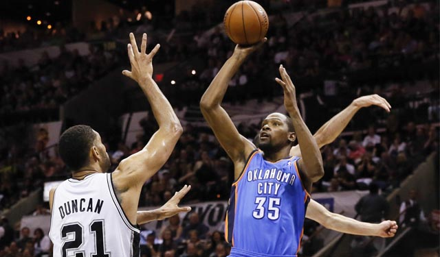 When do we get our Durant moment for this series? (USATSI)