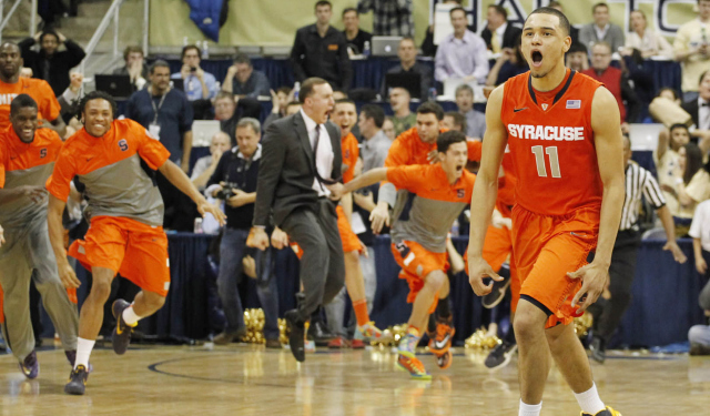 Tyler Ennis is projected by some to be a lottery pick in June.