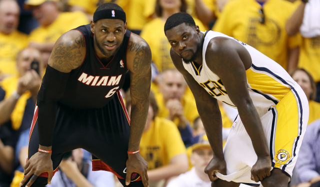 LeBron James and the Heat can close out the Pacers Friday.