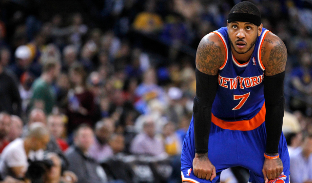 Carmelo Anthony can be a free agent this summer.