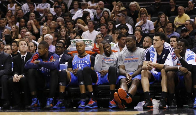 Will the Thunder pick it up at home again? (USATSI)