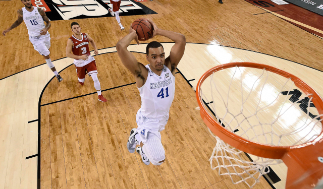 Report: Knicks 'enamored' with Trey Lyles, could draft him 4th overall