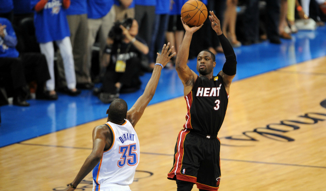 Report: Heat want Wade to use opt-in clause to go after Durant