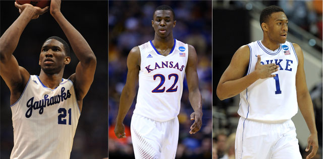 The Bucks could get one of these great players with the No.2 pick. (USATSI)
