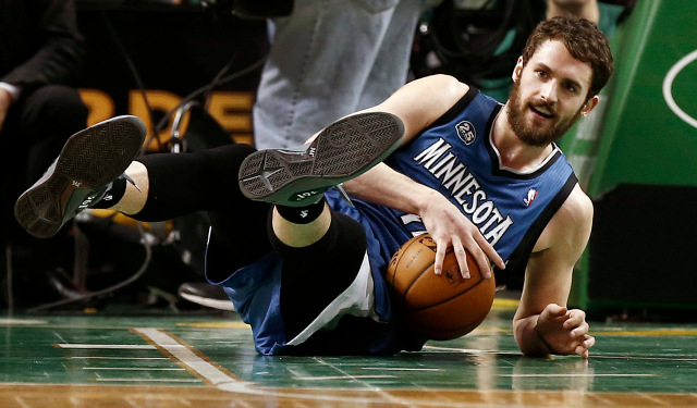 Kevin Love's future in Minnesota is up in the air.