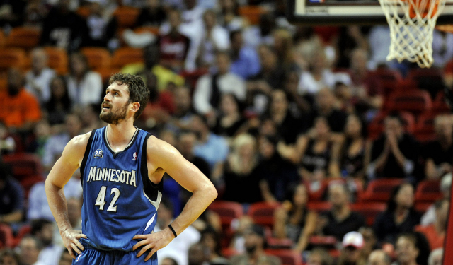 Kevin Love has no right to be frustrated, according to Flip Saunders.