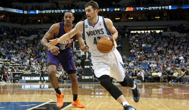 Phoenix is an intriguing destination for Kevin Love.