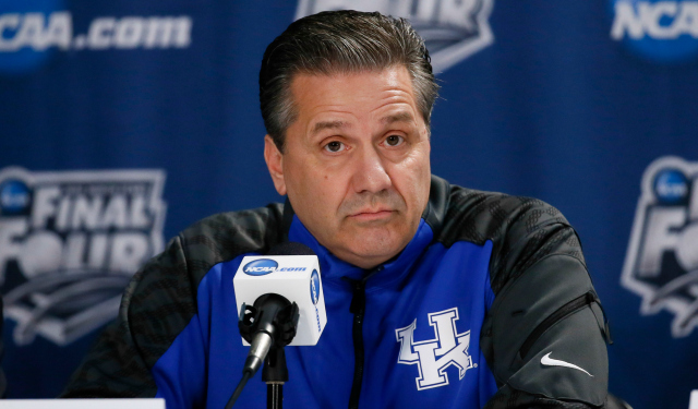 John Calipari decided to stay at Kentucky.