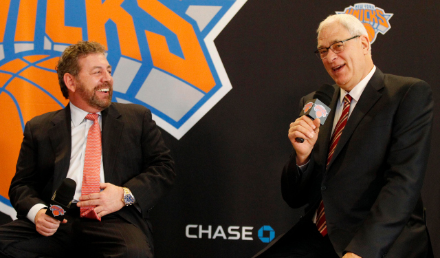 Phil Jackson has spoken to Rick Fox about the Knicks' coaching job.