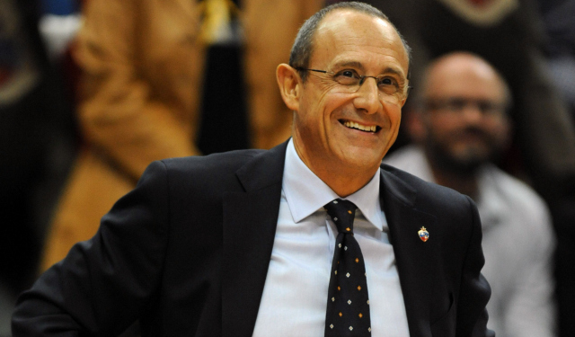 Ettore Messina will reportedly be a Spurs assistant coach next season.