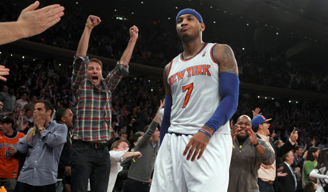 Carmelo Anthony reportedly still plans to become a free agent.