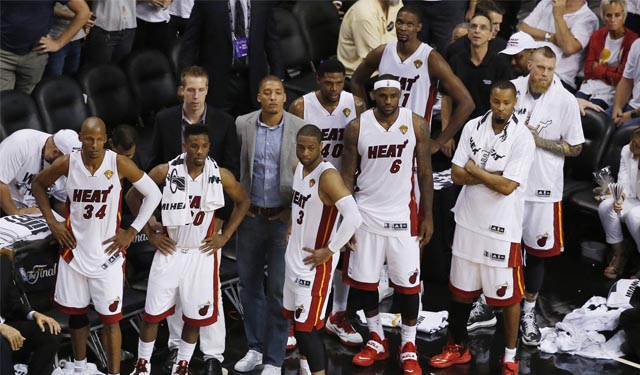 How do the Heat turn those frowns historically upside-down? (USATSI)