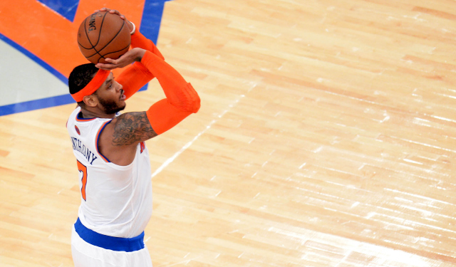 Carmelo Anthony can become a free agent in July.