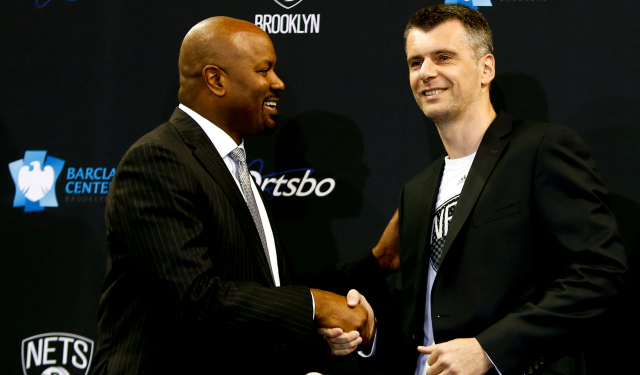 WMikhail Prokhorov and Billy King will search for a new coach again.