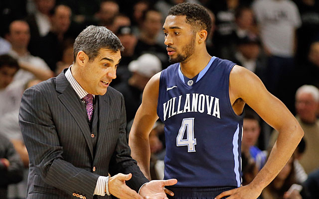 Jay Wright says Darrun Hillard is 'primed to be a great leader' at Villanova.  (USATSI)