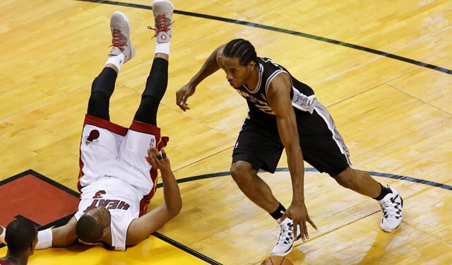 The Spurs are ready to put the Heat down. (USATSI)