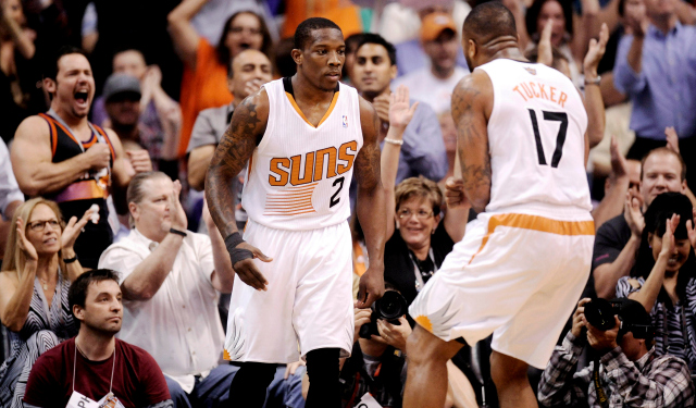 Eric Bledsoe and P.J. Tucker will be restricted free agents in July.