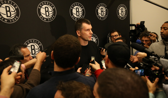 Mikhail Prokhorov does not intend to sell the Nets.