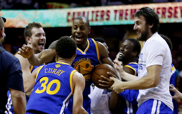 3-pointer: Warriors beat Cavaliers in Game 6 to win NBA title - CBSSports.com