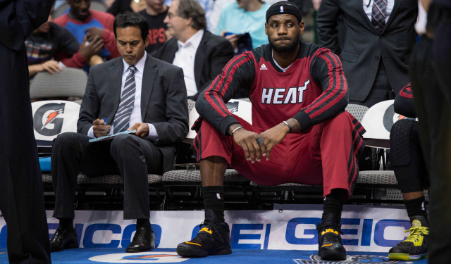 LeBron James can be a free agent this summer.