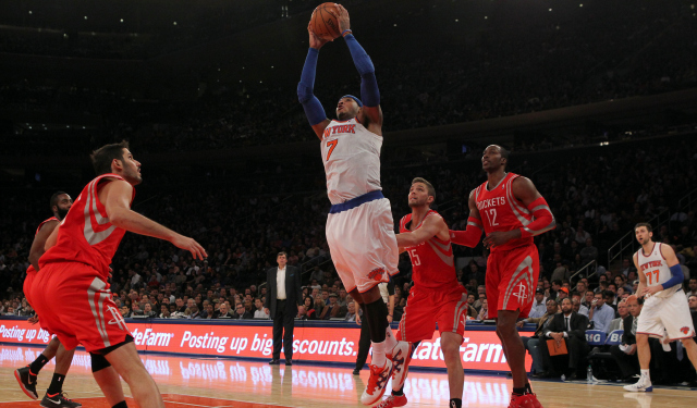 Carmelo Anthony will reportedly consider Houston in free agency.