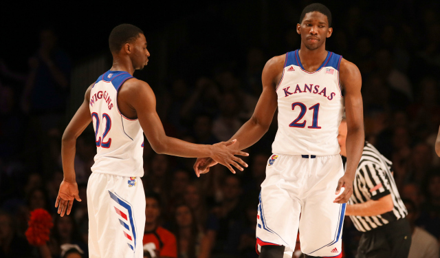 Joel Embiid might wind up sliding in next week's draft.