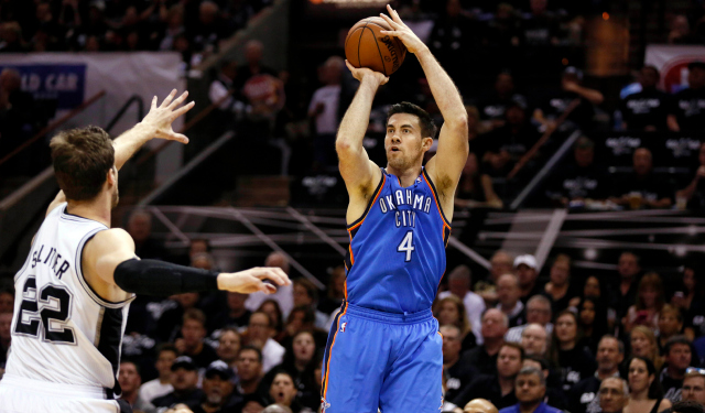 Nick Collison will be sidelined for more than a month.